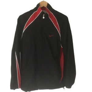 Nike jogging suit black & red SZ M